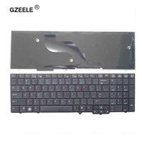 teclado de notebook para hp venda por atacado-GZEELE Novo teclado Inglês Para HP para Probook 6540B 6545B 6555B 6555B 6540 6545 EUA teclado notebook laptop Venda quente! PRETO