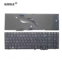 ingrosso tastiera per notebook hp-GZEELE Nuova tastiera inglese per HP per Probook 6540B 6545B 6550B 6555B 6540 6545 US laptop keyboard per notebook Vendita calda! NERO
