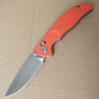 e facas de início venda por atacado-Y-START JIN02OR Faca Dobrável Tático Sobrevivência Ao Ar Livre Camping Bushcraft Bolso Faca Axis Bloqueio D2 Lâmina G0 Handle Bearing