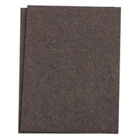 Wholesale Felt Sheets - Self-Stick Furniture Felt Sheet for Hard Surfaces to Cut into Any Shape (2 pack) Brown