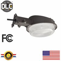 Wholesale Stock in US Led Wall Lamp W W Led Barn Light Outdoor garage Yard Light k Daylight White Security Lights street light ETL listed