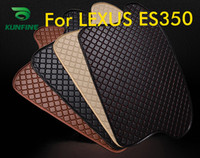 Wholesale Car Styling Car Trunk Mats for LEXUS ES350 Trunk Liner Carpet Floor Mats Tray Cargo Liner Waterproof Colors Opitional