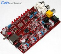 Wholesale Usb Dac Board - New Original XMOS+ PCM5102 + TDA1308 USB decoder board USB DAC 384KHZ 32bit -R179 Drop Shipping