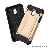 Wholesale armor defender case online – custom Armor Hybrid Defender Case TPU PC Shockproof Cover FOR SAMSUNG Galaxy A40 A70 J8 PLUS