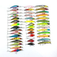Wholesale hard lures china resale online - Minnow Fly Fishing Lure Set China Hard Bait Jia Lure Wobbler Carp Models Fishing Tackle Y1892114