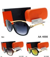 Wholesale kaka Design men women Sunglasses with origianal box eyeglasses gold Metal Square frame classical Vintage jim Glasses for Friends as Gifts