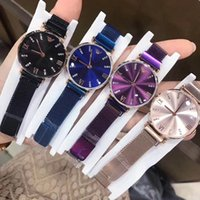 Wholesale fashion girl model dress for sale - 2018 New model diamond Fashion women watch blue Luxury famous brand dress watches small dial lady elegant wristwatches Hot items girls gift