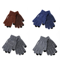 Wholesale original brand tablets online - Luxury Original iwarm Anti skid Touch Capacity Screen Gloves Warm Winter Driving Gloves Touchscreen For Cell phone ipad iPhone Tablet