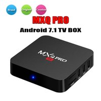 Wholesale best selling android tv box resale online - Best selling GB GB MXQ Pro K Android Box RK3229 Rockchip MXQ PRO Smart TV Box Android TV Box Better TX3 X96 mini