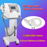 Wholesale Best Laser Tattoo Machine - best Professional laser tattoo removal machine q-switch nd yag laser tattoo removal with 5,000,000 Shoots used spa equipment CE approvel
