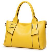tasarımcı inek torbaları toptan satış-Hakiki Deri Kadın Çanta Marka Tasarımcısı Bayanlar Omuz Çantaları Moda Büyük Bez Çantalar Büyük Kapasiteli Çanta Gerçek Inek Deri