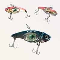 Wholesale bass fishing lures for sale - LED fishing lures LED Lighted Bait New Flashing LED Flash Light Fishing Lure Bait Deepwater Crank Bass Pike Casting