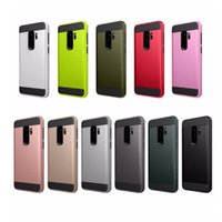 Wholesale Wholesale Champagne Cases - for galasy s9 plus V_ERUS Case Dual Layered Anti-Shock back cover For iphone x 8 7 plus s8 Hybrid Armor Case