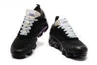 Wholesale Designer R - 2018 Vapormax black white Trainers Breathe Shoes For Mens Womens fashion designer R vapormaxs Knit Sneakers Sports Shoes 36-45