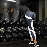 Wholesale slim leg trousers for women for sale - Group buy Women Leggings Patchwork Bodybuilding Slim Legging Trousers Sportswear For Female Push Up Pants Women Active Casual Pant