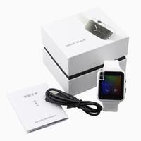 lg telefonbildschirme großhandel-Gebogener Bildschirm X6 Smartwatch Smart Watch Armband Telefon mit SIM TF Card Slot mit Kamera für LG Samsung Sony All Android