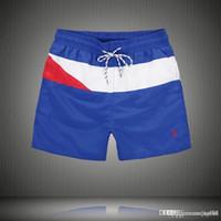 Wholesale high waisted swimwear free shipping online - OLO New brand Shorts High Waisted Men Summer Fashion Board shorts running shorts homme swimwear M XXL
