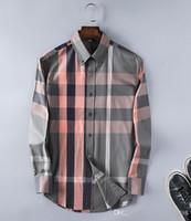 Wholesale Dress Shirts Cufflinks - Wholesale-New 2018 High quality Mens Shirts Designer Brand Fashion Business Casual Dress Shirt with french cufflinks Free Shipping shirt