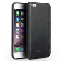 Wholesale iphone6 plus case leather online - C6 Good quality handmade back case for iPhone6S plus ultra slim back cover for iphone6 plus inch