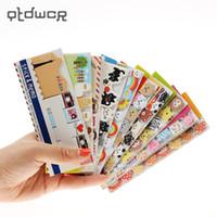 новый блокнот оптовых-Новая Корея канцелярские мультфильм липкий свежий N раз наклейки заметки на бумаге блокноты школьные принадлежности