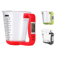 Wholesale kitchen displays resale online - High Quality Balance Electronic Digital Cup Scale g g LCD Display Electronic Scale Digital Kitchen Weight Scale
