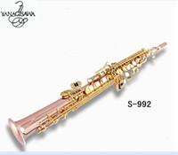 New Japan YANAGISAWA S992 B flat Soprano saxophone High Quality musical instruments YANAGISAWA Soprano professional free shipping