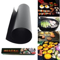 Wholesale mat retail for sale - Group buy Retail Box Package Non Stick BBQ Grill Mat Thick Durable CM barbecue mat Reusable No Stick BBQ Grill Mat Cooking Tool BBQ Liner