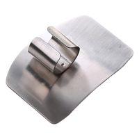 протектор пальца оптовых-100шт Finger Guard защиты пальцев рук, чтобы не повредить вырезать из нержавеющей стали рука протектор нож резки пальцев инструменты защиты LIN3816