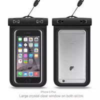 Wholesale brand pvc case for sale - Group buy Waterproof phone bag PVC Protective Mobile Phone Case Pouch With Compass Bags Diving Swimming Sports For iphone X plus S8 s8plus