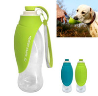 Wholesale toys ramps online - ml Sport Portable Pet Dog Water Bottle Expandable Silicone Travel Dog Bowl For Puppy Cat Drinking Outdoor Water Dispenser