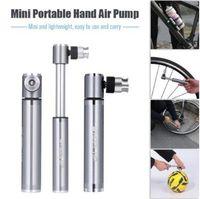 Wholesale car tire inflator pump online - Bike Manual Inflator Bicycle Air Pump MTB Road Bike Car Air Tire Inflator Riding Bike pressure Pump Cycling Accessories CCA10422