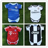Real Madrid baby Soccer Jerseys 2018 2019 club 6-18 months short sleeves  baby Soccer Jersey Messi DYBALA MULLER MBAPPE baby football shirt c9385bf8c