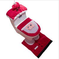 ingrosso decorazioni straniere-Hot nuove decorazioni natalizie velluto d'oro vecchia toilette a tre pezzi serie di esplosioni commercio estero decorazione della casa