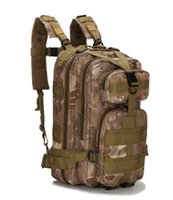 Wholesale Waterproof Backpack Camouflage - 3p tactical backpacks Outdoor bags 25L Waterproof climbing Running Tactical waistpacks Multifunctional Multifunctional 3P Magic backpacks