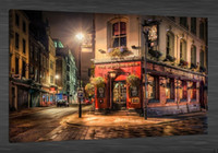 Wholesale original abstract art oil paintings resale online - Street In London HD Art Print Original Oil Painting on Canvas high quality Home Wall Decor Multi Sizes Options City scenery C7