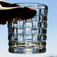 Wholesale diamond cut crystal glasses for sale - Group buy Crystal Diamonds Whiskey Wine Drinking Cup Shot Glass KTV Cup Beer Glasses Pint Juice Glass Water Drinkware Good Quality