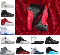 Wholesale Body Game - Classical Mens 12 XII basketball shoes Taxi ovo white Black Flu Game GS Barons Gym red gamma french blue Sports sneakers US 8-13