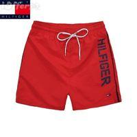 Wholesale geometric swimwear online - 2018 Summer Men Short Pants Brand Clothing Swimwear Polyester Men Brand Beach Shorts Swim Wear Board Shorts