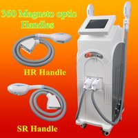 Wholesale light therapy for face online - Opt shr hair removal FOR salons IPL face toning machines E Light acne therapy pigmentation wrinkle removal beauty machine