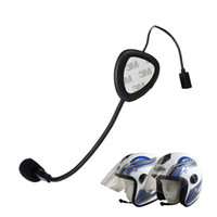 drahtloses bluetooth kopfhörer-motorrad groihandel-Neue Version Mini Bluetooth 4,0 Kopfhörer Motorrad Helm Intercom Headset BT Drahtlose Freisprecheinrichtung Bluetooth Kopfhörer
