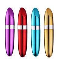 Wholesale lipstick clitoris resale online - Lipstick Vibrator Sex Toys for Woman Bullet Vibrator Nipple Clitoris Stimulator Dildo Mini Vibrators for Female Masturbation