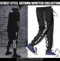 Wholesale high waist harem - Winter WARM PANTS Skateboards Sport Pants Hip Hop High Quality Fashion Men's Pants
