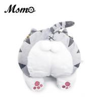 Wholesale Coin Purse Balls - MSMO Super Cute Cat Butt Fluffy CrossBody Bag Animal Pet Cat Plush Messenger Bag Kitten Ball Coin Purse