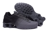 Wholesale Grey Outlet - Top Quality Shox Deliver Men Running Shoes,tenis Hombre Mens Deliver Sneakers Sport Outdoor Walking Shoes Outlet Size 40-46
