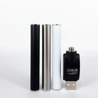 e cigarette cigarette automatique achat en gros de-Cigarettes électroniques M6T TH205 Atomiseur M3 Vape Battery 350Mah 510 Batterie de fil automatique EGO T avec chargeur USB Kit de stylo à vapeur A9