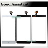 tela do telefone inteligente 5.5 venda por atacado-Elephone p9000 novo 5.5 polegadas touch screen capacitiva digitador para elephone p9000 lite painel de substituição smart phone android