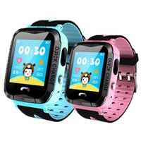 ingrosso monitor leggeri-IP67 Impermeabile V6G Smart Watch GPS Tracker Monitor Chiamata SOS con illuminazione della telecamera Baby Nuoto Smartwatch per bambini Bambino