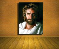 zusammenfassung nackten mann kunst großhandel-Jesus Christus von Akiane Krama, Home Moderne abstrakte Leinwand Ölgemälde HD Print Wand Kunst Dekor für Wohnzimmer Dekoration gerahmt / Unframe