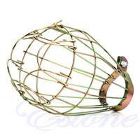 ingrosso supporto e11-Nuovo Retrò Industriale Retrò Guardie Wire Wire in metallo Morsetto in metallo Lampada a gabbia Trouble Light YF