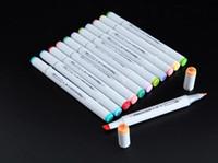 marqueurs d'esquisse achat en gros de-La deuxième génération de marqueurs Finecolour FINECOLOUR stylo Sketch stylo de peinture d'art peint à la main 160 couleurs pour choisir un stylo cadeau gratuit